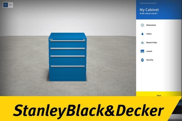 Stanley Black & Decker: Cabinet Configurator
